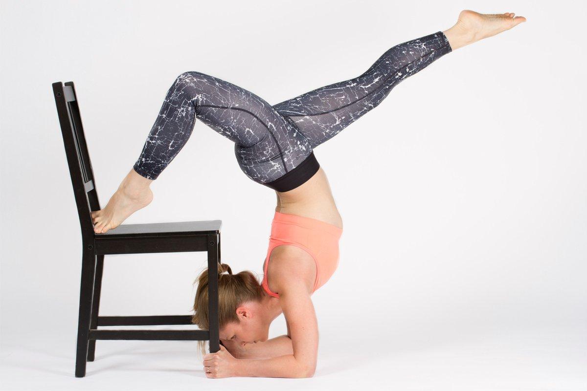 Entlastung Handgelenk Yoga