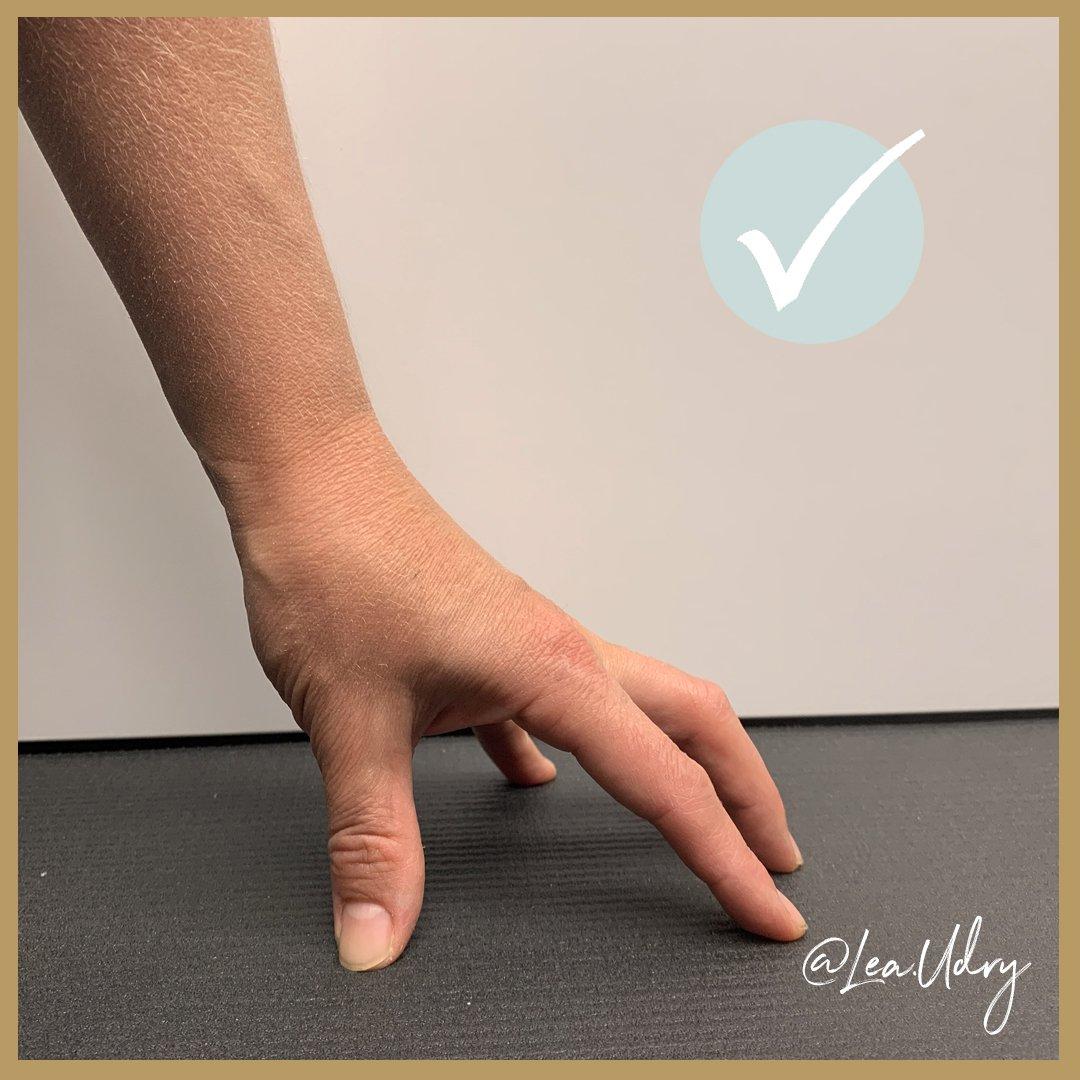 Handgelenk Yoga